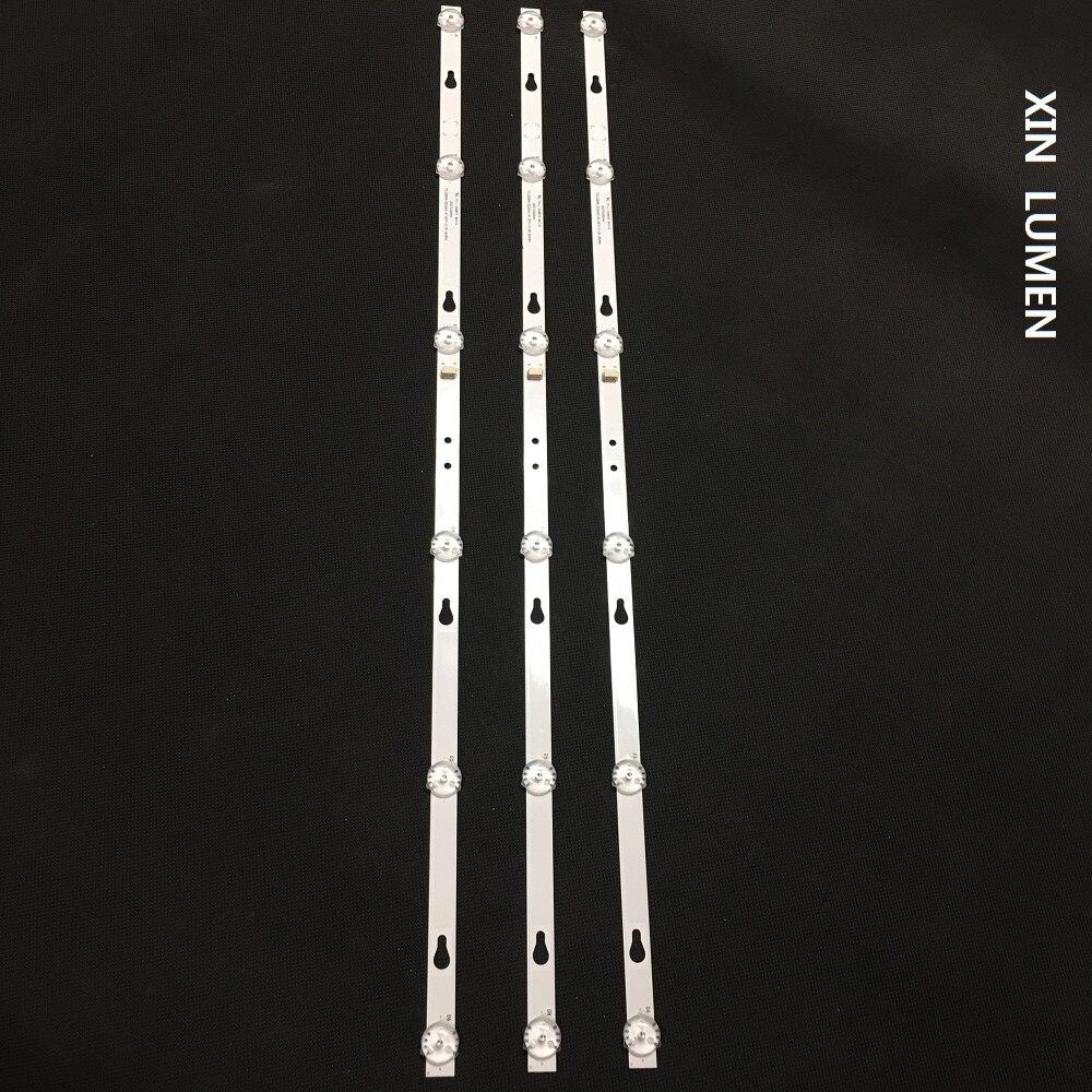 XIN люмен TCL 32 дюймов 2019 Светодиодная лента-подсветка 3 шт./лот YS-L E469119 94V-0 303TC320044 TCL32D06-ZC22AG-10 2017-11-30