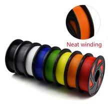 3D Filament PLA filament 1,75mm 1kg Ordentlich Wicklung kunststoff spulen 1,75 3D drucker impressora filamento Keine Verwicklung Druck