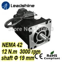 leadshine easy servo motor closed loop stepper 3 phase 1103hbm120h 1000 with 220230vac 12 nm 1000 line encoder