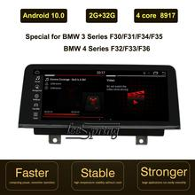 Android 10,0 Auto-multimedia-Player für BMW 3 Serie F30/F31/F34/F35/ BMW 4 Serie f32/F33/F36 In-Auto Unterhaltung GPS Navi