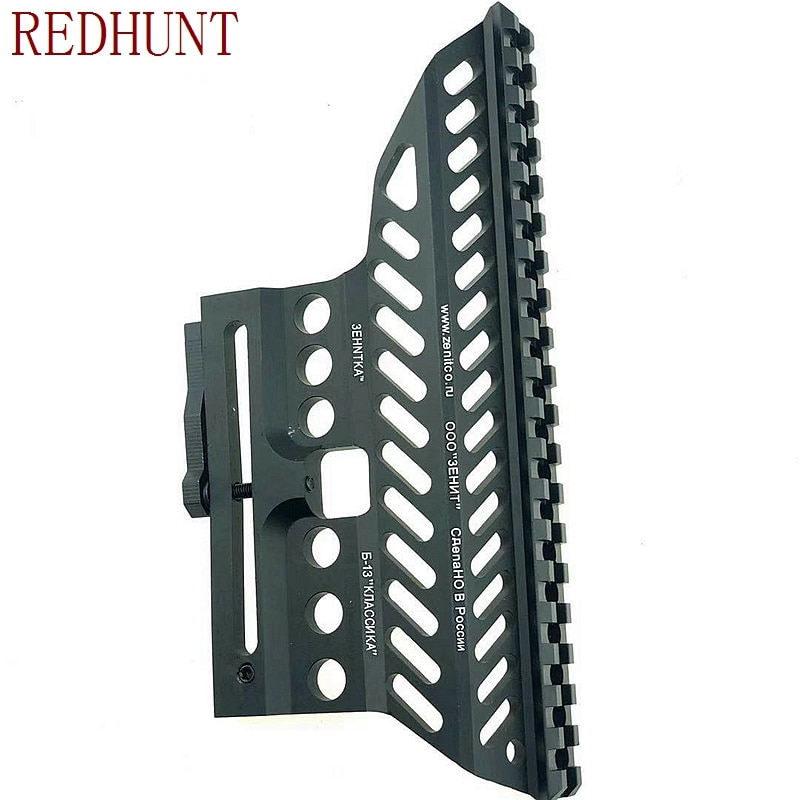 ak AK47 74 47 Zenit B-13 CNC Aluminium 20mm M47 qd Side Rail Red Dot Scope Mount Base Picatinny Cerakote Hunting