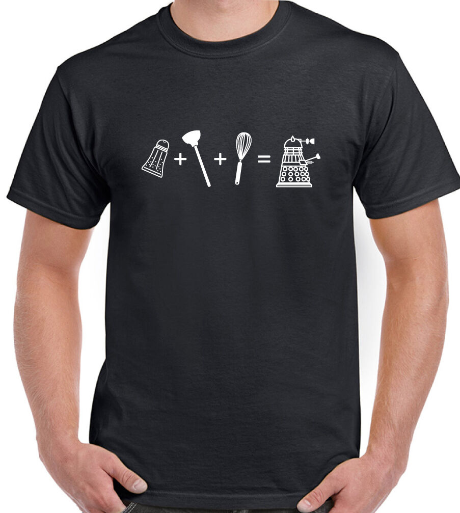 Dalek T-Shirt Dr qui comment faire un homme drôle inspiré le médecin