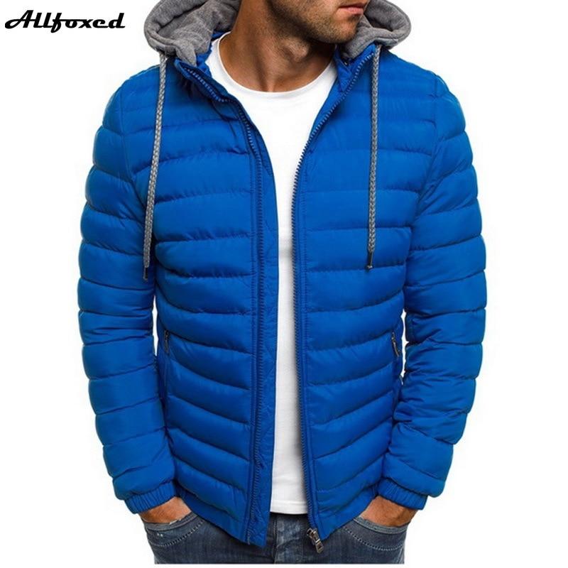 Мужские утепленные легкие парки, зимние куртки с капюшоном, стеганая куртка, новые мужские ветрозащитные куртки, Повседневная теплая одежд...
