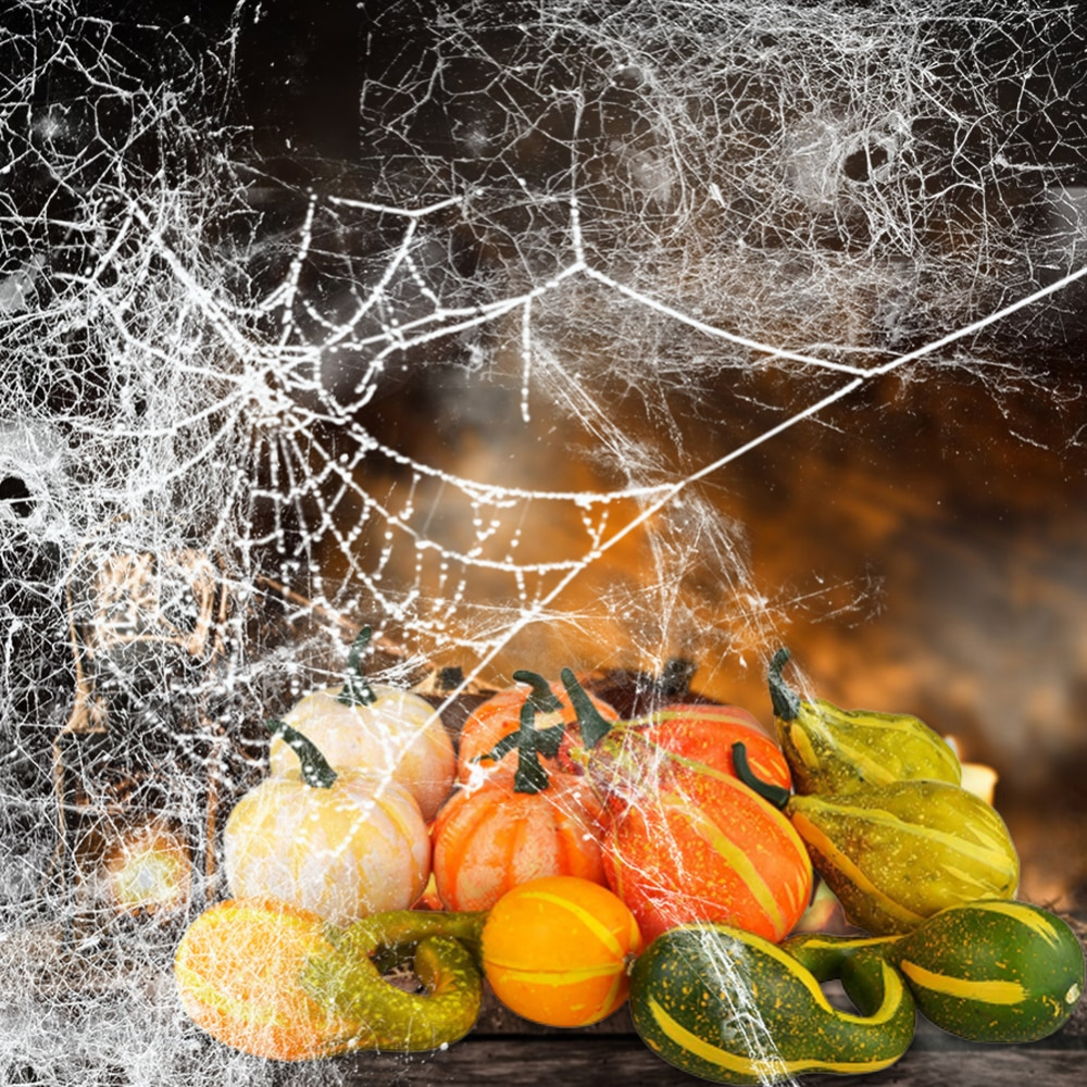 6 forma variadas y Color Artificial de calabazas y calabazas falso vegetal de la fruta para Halloween, el Día de Acción de Gracias Decoración