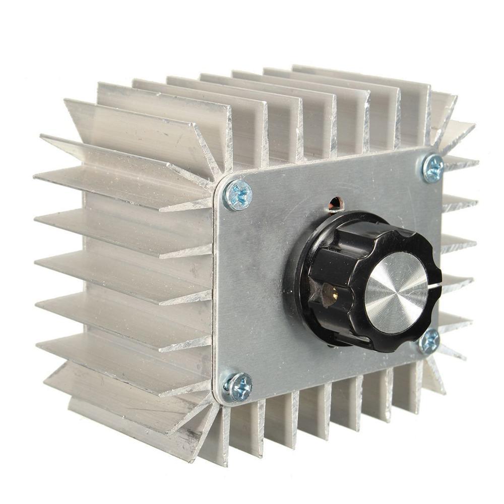 AC 220V 23A 5000W SCR Spannung Regler Controller LED Dimmen Dimmer Thermostat