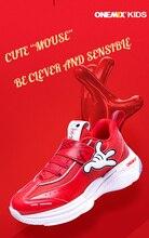 ONEMIX 2020 grande remise mignon mode offre spéciale de haute qualité fille garçon sport chaussures de course haut de gamme salle de sport coussin dair sneaker