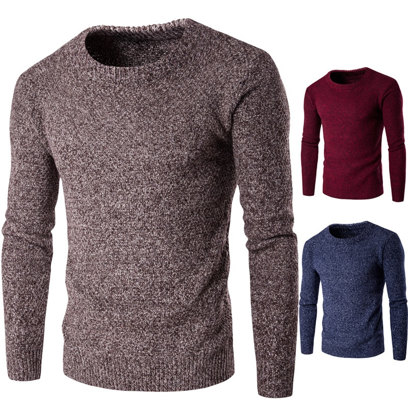 Autumn Men's Sweaters Cotton Sweaters Male Casual Warm Sweater