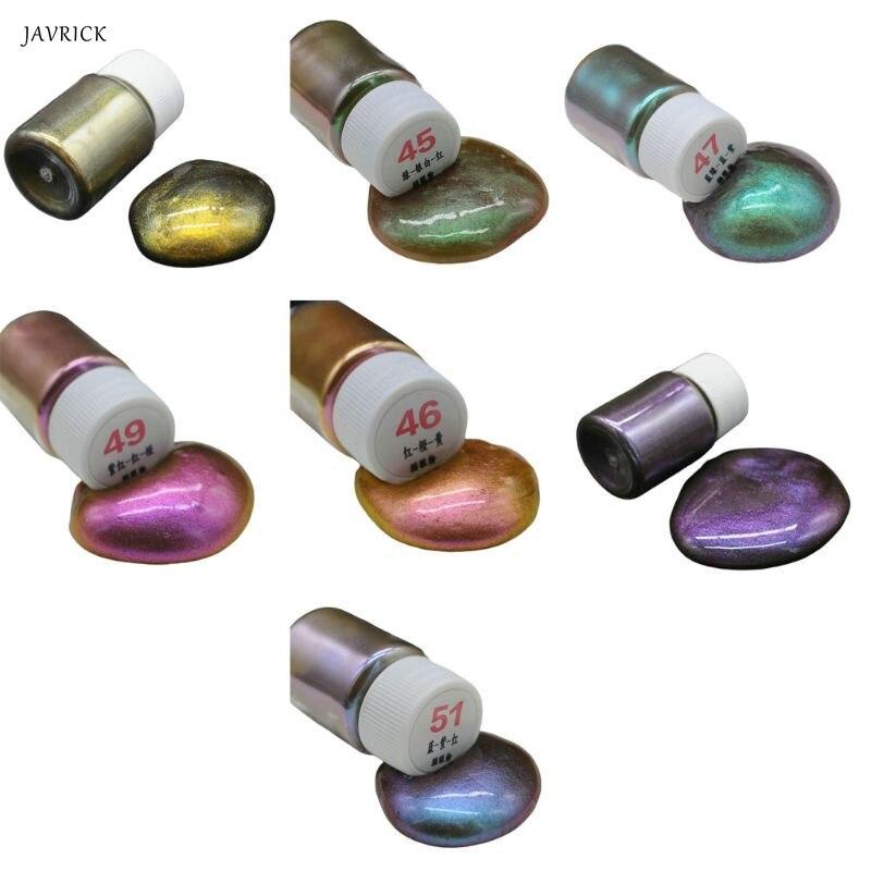 DIY relleno de resina epoxi tinte perla pigmento ojo de gato polvo Mineral perlado artesanías hechas a mano haciendo accesorios de uñas de belleza