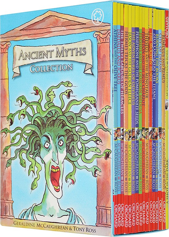 16 Books/Set Children's English story book Ancient Myths Collection Chapter Book help your child be a reader early education