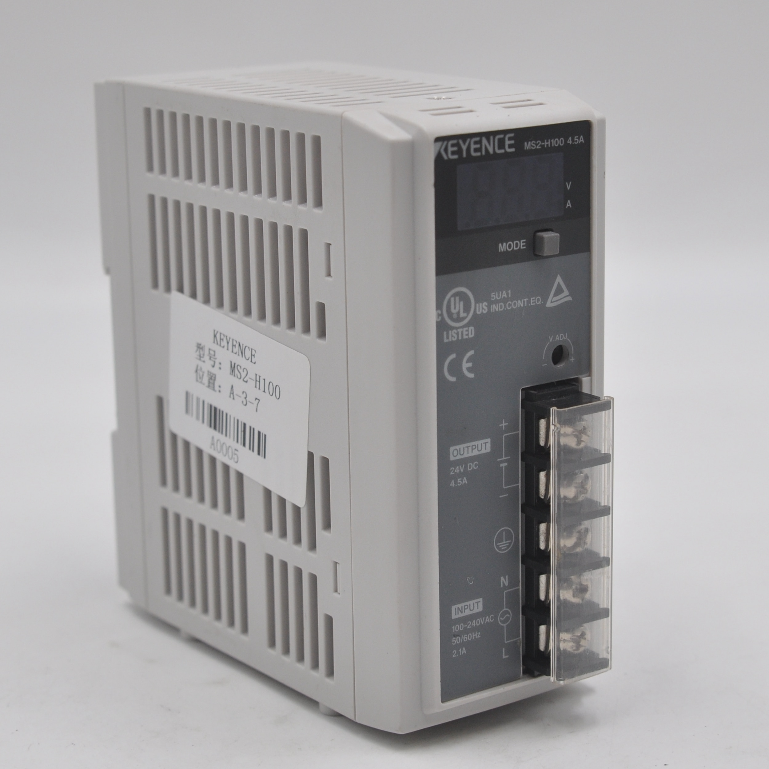 Original disassembly machine KEYENCE Keyence MS2-H100 switching power supply 4.5A 24V DC