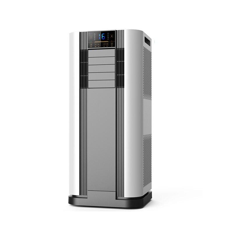 Máquina integrada de aire acondicionado móvil frío y caliente, instalación gratuita de refrigeración de Solo Frío portátil sin externo