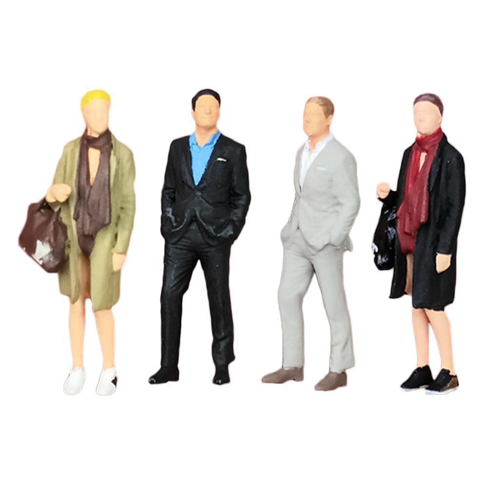 164 miniaturas figuras de ação areia mesa cena decoração mulher cavalheiro personagem satchel cena modelo acessórios areia t b7k9