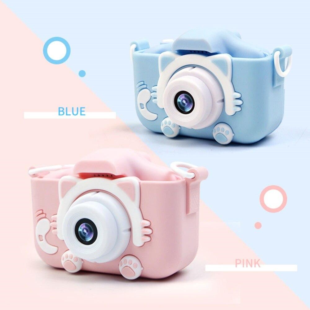 X5S 2,0 ''20 МП мини Детская камера IPS экран HD 1080P Детская цифровая фотокамера игрушка с 600 мАч литиевая батарея Рождественский подарок