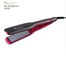 surker electric hair straightener SK-960 straight hair iron negative ion hair care ceramic coating p