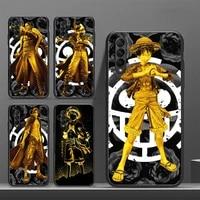 one piece zoro luffy japan anime phone case for galaxy j2pro j4 j5 j6 j7 j5prime j72016 j82018 m10 m20 m30 funda cover