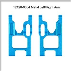 Wltoys 12428-0004 Left Right Arm 12428 12423 12429 RC Car Spare Parts Upgrade Metal 12428 parts accessories