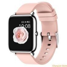 Reloj inteligente deportivo P22, reloj despertador con podómetro y monitorización de ritmo cardíaco y sueño, pulsera para Iphone Samsung Huawei