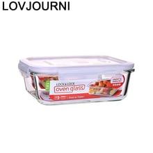 Malzemeleri Salat Cutter Gericht Platte Kokos Lebensmittel Container Mittagessen Box Küche Esszimmer Bar Geschirr Geschirr Besteck Glas Schüssel