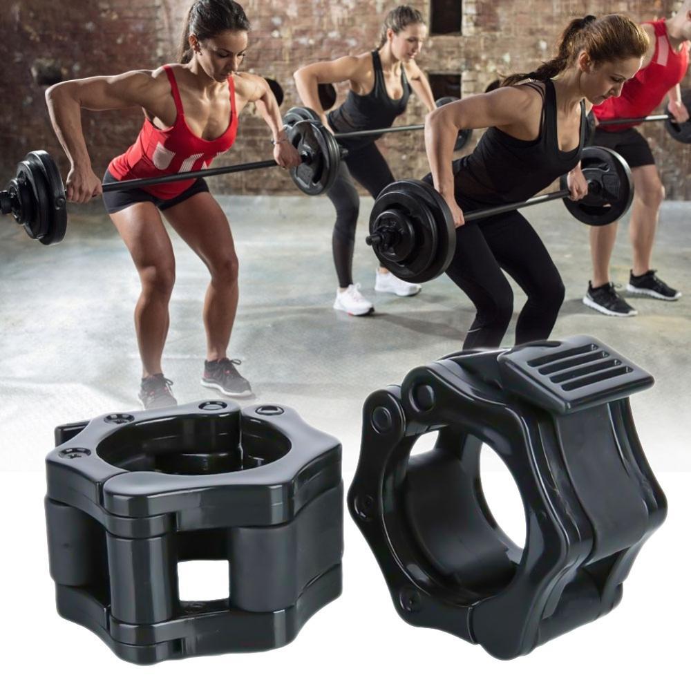 Гантели для мужчин, тяжелая атлетика, зажимы для штанги, ошейники для фитнеса, мускулация, стандартные воротники, Dambil, для спортзала, Пряжка ...