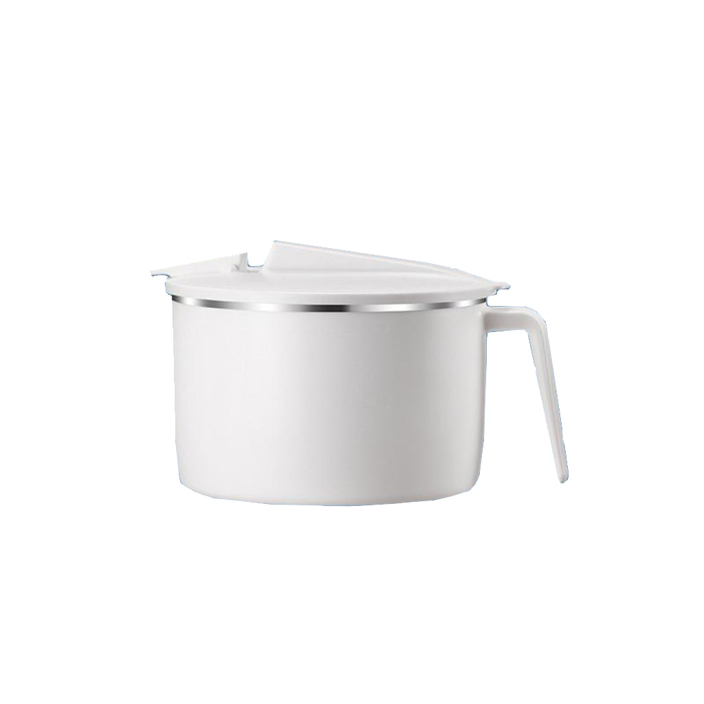 304 Stainless Steel Noodle Bowl with Phone Holder Food Storage Container