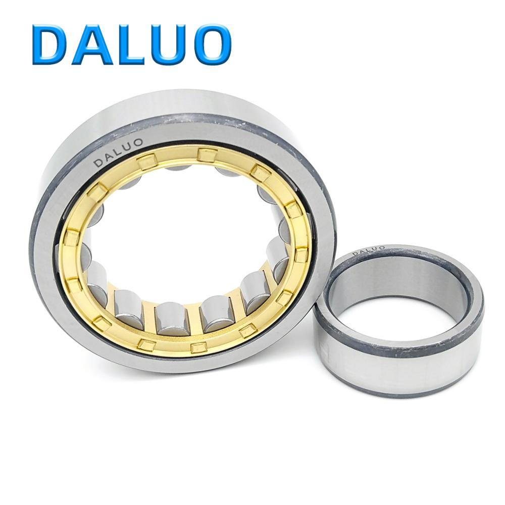 1 قطعة NU1017EM 85X130X22 32117 NU1017ECM NU1017 P6 ABEC-3 DALUO أسطواني محامل صف واحد متري