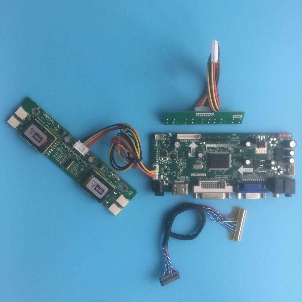 عدة ل M236H1-L08 لتقوم بها بنفسك M. NT68676 LVDS 4 مصابيح 1920X1080 23.6
