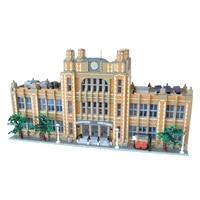 moc school city building blocks blocks assembled modular diy toys brick education assembled birthday gifts for children 14412pcs