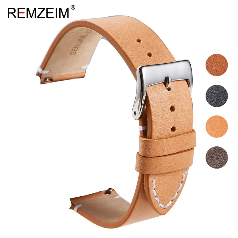 Calfskin Leather Watchband Quick Release Watch Band Wrist Strap 18mm 20mm 22mm 24mm Smart Watch Strap Watches Accessories calfskin leather watchband quick release watch band wrist strap 18mm 20mm 22mm 24mm smart watch strap watches accessories