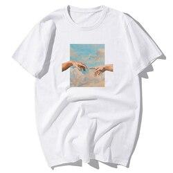 Engraçado michelangelo genesis vintage retro camiseta masculina de algodão t camisa 2020 tshirt masculino casual t-shirts hip hop topos t camisa