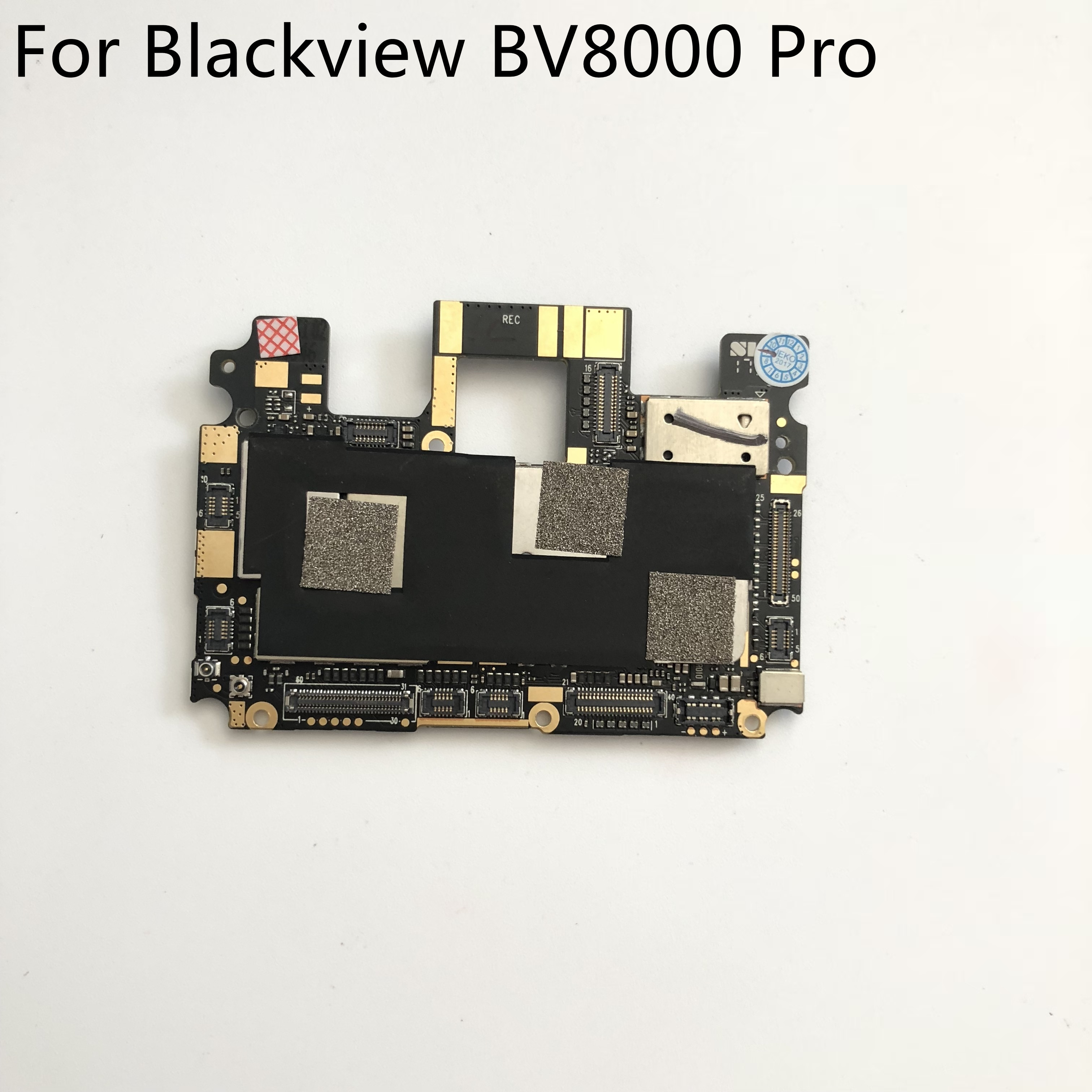 Placa base usada 6G RAM + 64G ROM placa base para Blackview BV8000 Pro MT6757 Octa Core 5,0 pulgadas 1920*1080