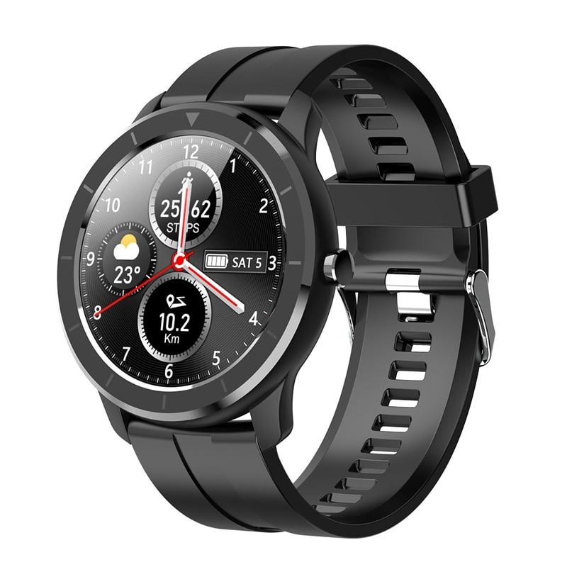Reloj inteligente deportivo T6 con prensa completa Sn IP68 resistente al agua 2020, reloj inteligente para Android IOS, relojes de Fitness
