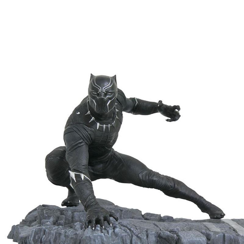 Figuras de acción de Marvel Legends, vengadores Infinity War, Pantera Negra, modelo de película de 15cm en PVC, colección de juguetes, decoración de escritorio