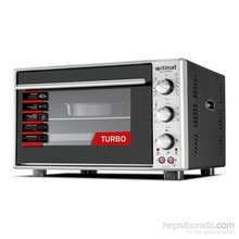 İtimat Timerli Thermostat Oven Turbo Fan Double Glazed Staninless