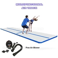 free shipping airtrack 2m 3m 4m inflatable gymnastic mattress gym tumble air track floor tumbling air track mat for adult child