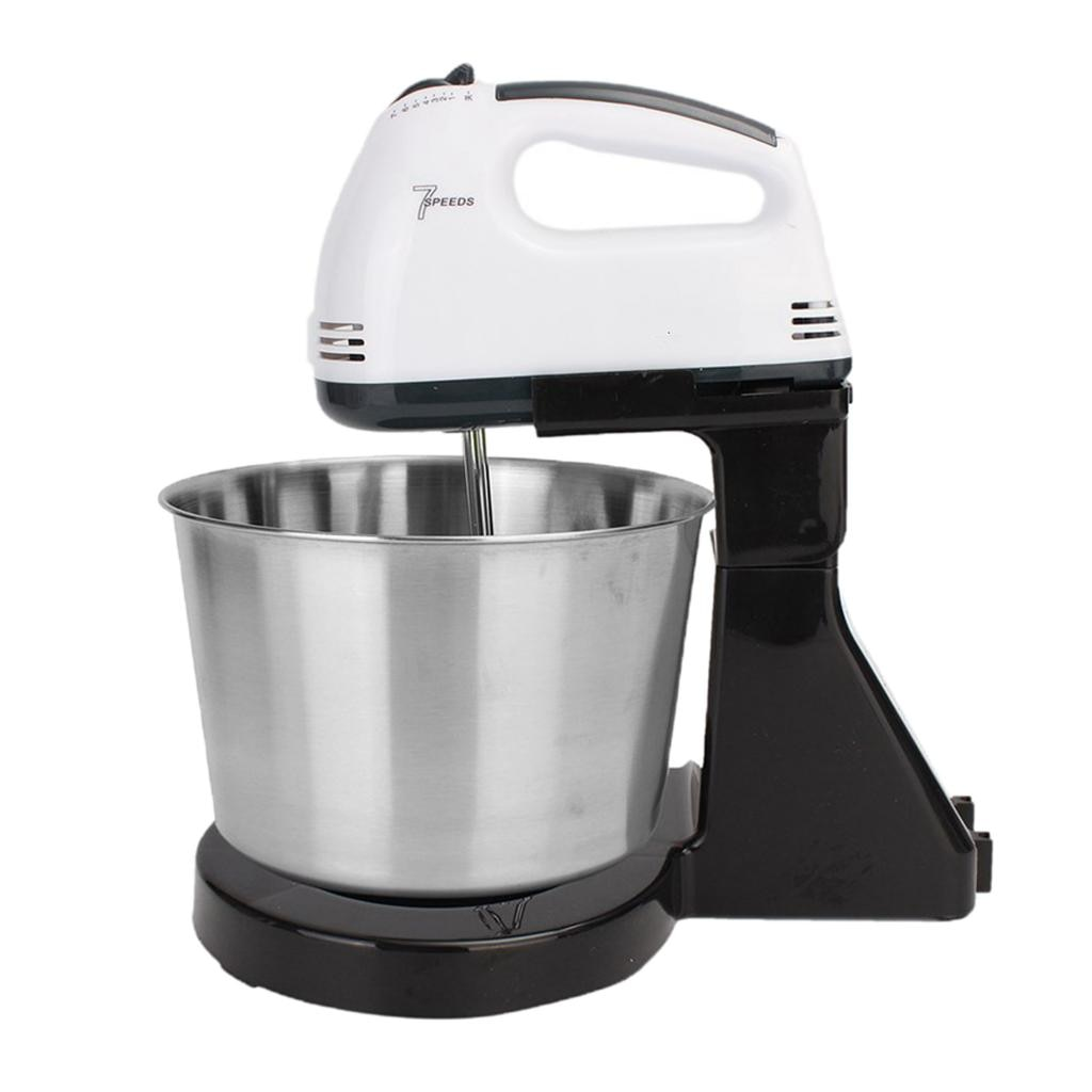 hand mixer chudesnitsa mp 3502 Electric Hand Mixer 7-Speed Mini with Bucket Stand Mixer for Baking Cake Hand Blender Dough Mixer Food Mixer Mixer Blender Ice