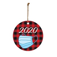 2020 Mask Hanging Decoration DIY Gift 30PCS Christmas Decorations Christmas Ornaments Product Personalized Family Home Decor