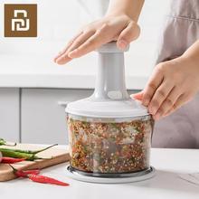 Ручная мясорубка Xiaomi Jordan & Judy, многофункциональная кухонная измельчитель для фруктов, овощей, орехов, трав, чеснока