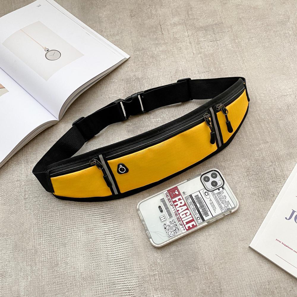 Спортивная сумка на пояс для бега, портативная Водонепроницаемая поясная сумка для бега и велоспорта, с защитой от кражи