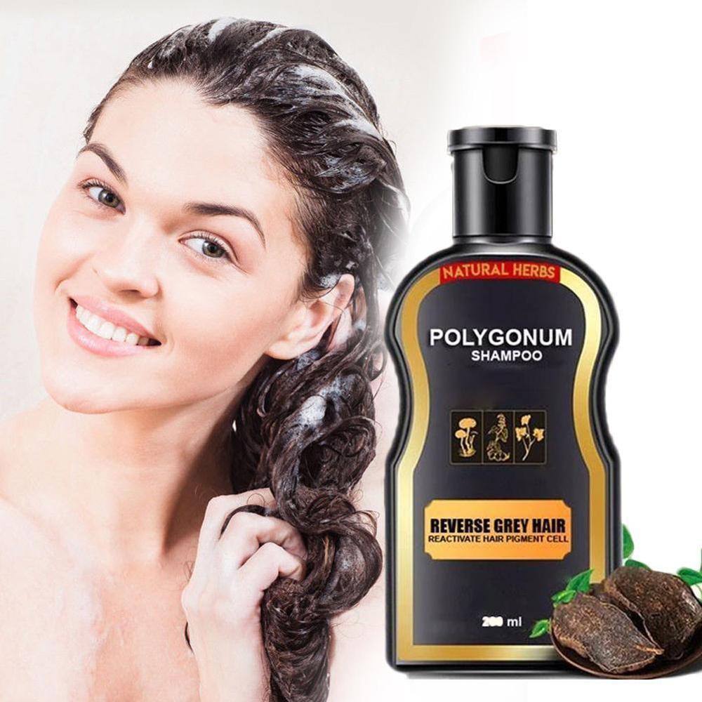 Hair Loss Treatment Shampoo Hair care Shampoo Bar Ginger Hair Growth Cinnamon Anti-hair Loss Shampoo Polygonum multiflorum 200ml недорого