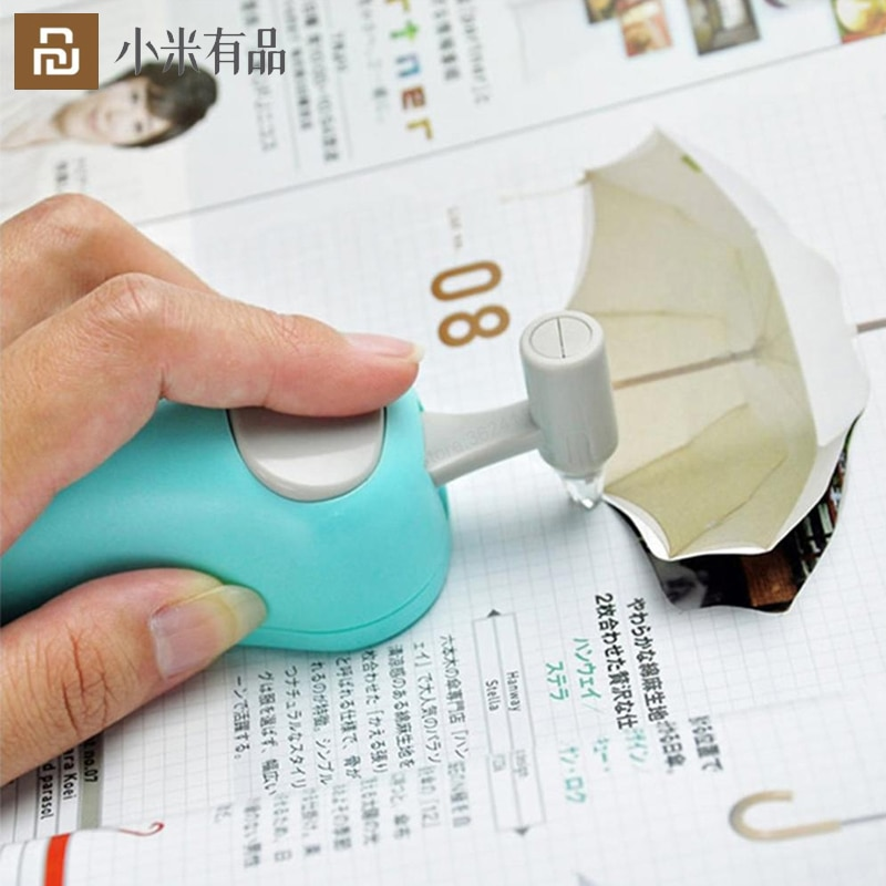Youpin Mini Paper Cutter Art Tool Kits DIY Curve Cutting Utility Knife Stationery With Mouse Shape Ceramic Blade Safety For Kids
