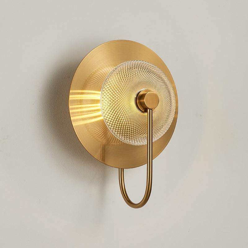 Lámpara led de pared para sala de estar, moderna luminaria led de...