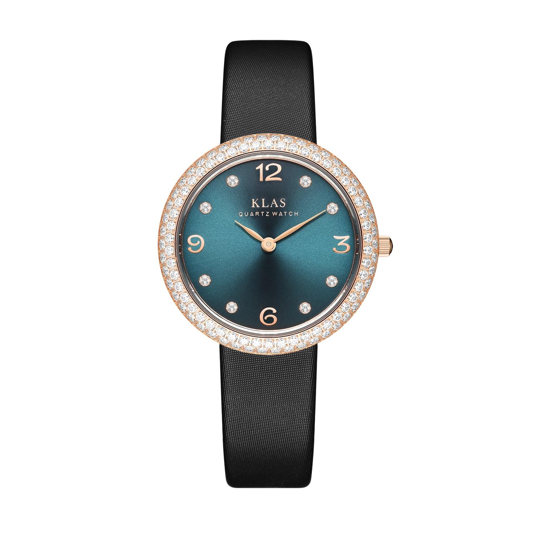 ساعة كوارتز ساعة نسائية موضة ساعة عادية هدية عيد السيدات الساعات العلامة التجارية