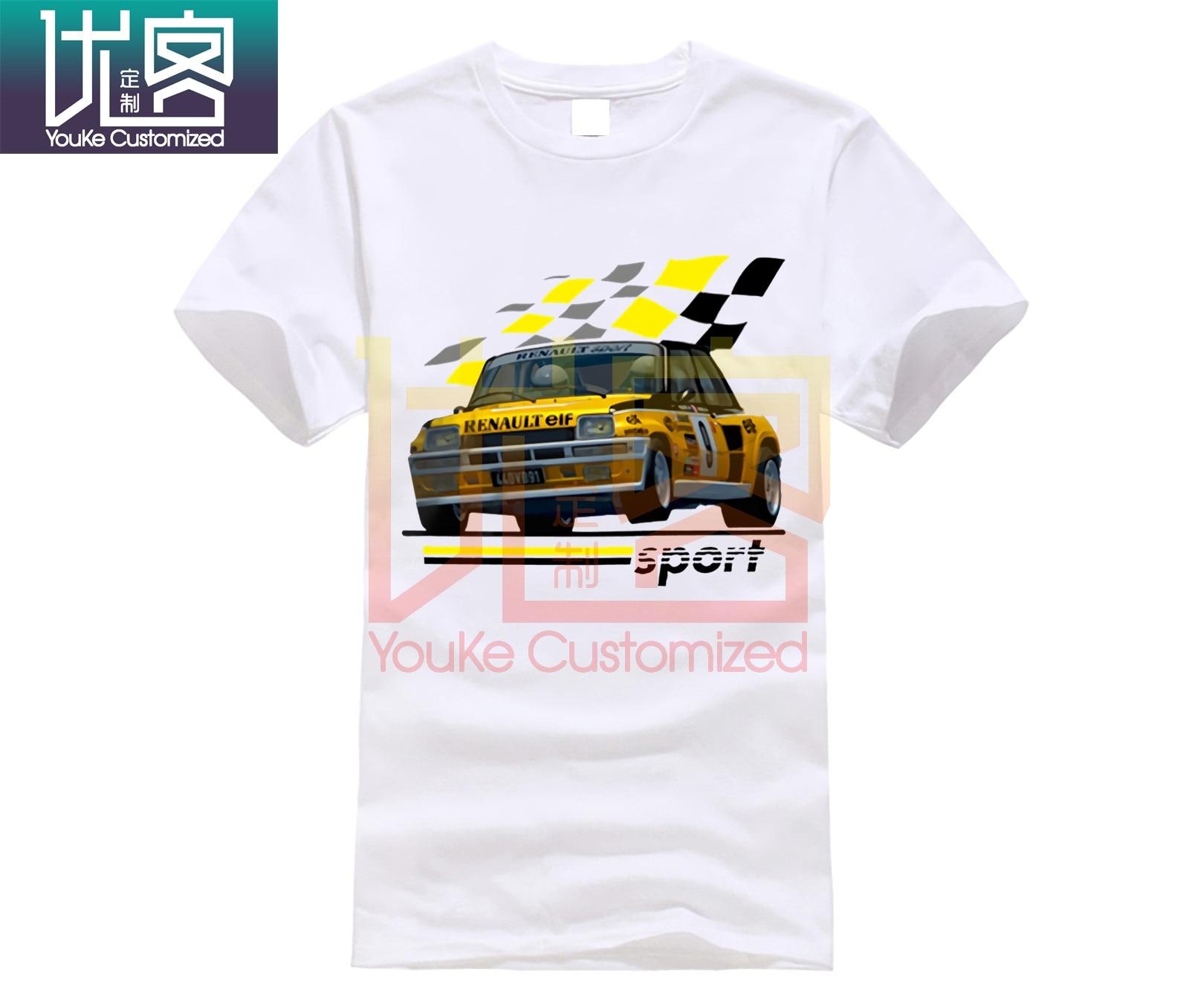 1983 R5 Renault 5 Turbo Rally WRC camiseta de Racing Maxi Gt alpino Jean Ragnotti