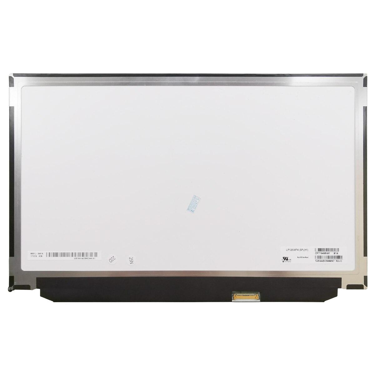 ل LG LP125WF4-SPH1 LP125WF4(SP)(H1) 1920X1080 FHD عرض اختبار LP125WF4 SPH1 Panel12.5