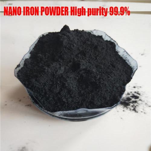 NANO IRON POWDER High Purity 99.9%  METAL POWDER 100g Gray Black Powder 2.2-2.5 Has High Purity Insoluble Uniform Powder