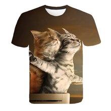 Panda Katze Dinosaurier Pailletten Nette mode Kind T-shirt für Jungen Mädchen T-shirt Cartoon Print Sommer Tops T-shirts für Baby kleidung