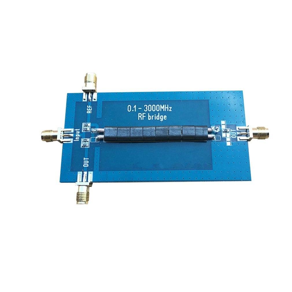 RF SWR отражающий мост 0,1-3000 МГц антенный анализатор VHF UHF VSWR антенна возврата потери электронный модуль