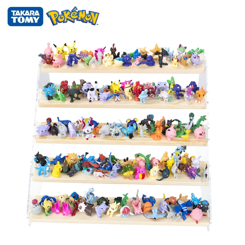 24Pcs/Set Tomy Pokemon Go 2-3cm No Repeat 144Pcs Different Styles Collection Anime Figures Model Dolls Pikachu Game Play Kid Toy
