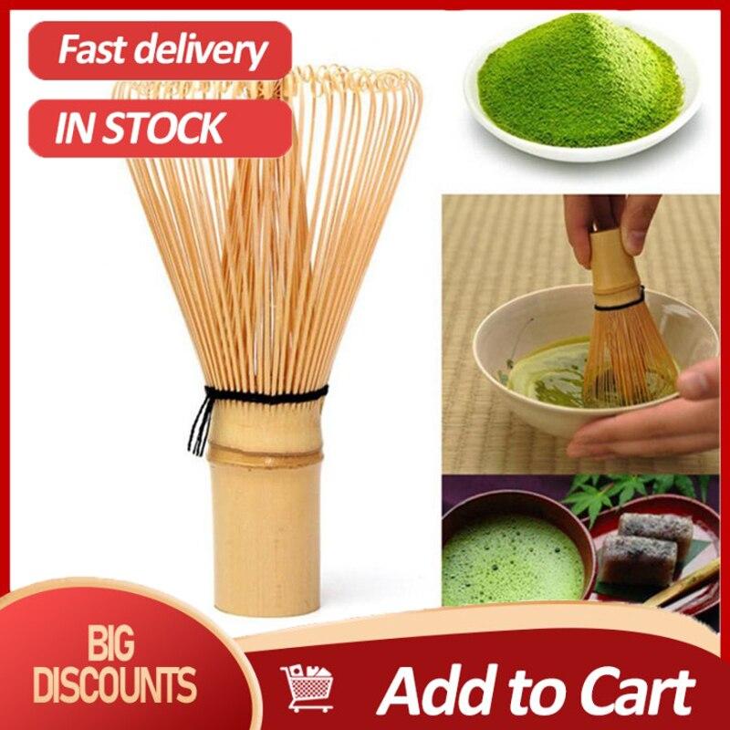 Cerimônia de bambu chasen pó batedor chá verde preparação matcha escova para utensílio