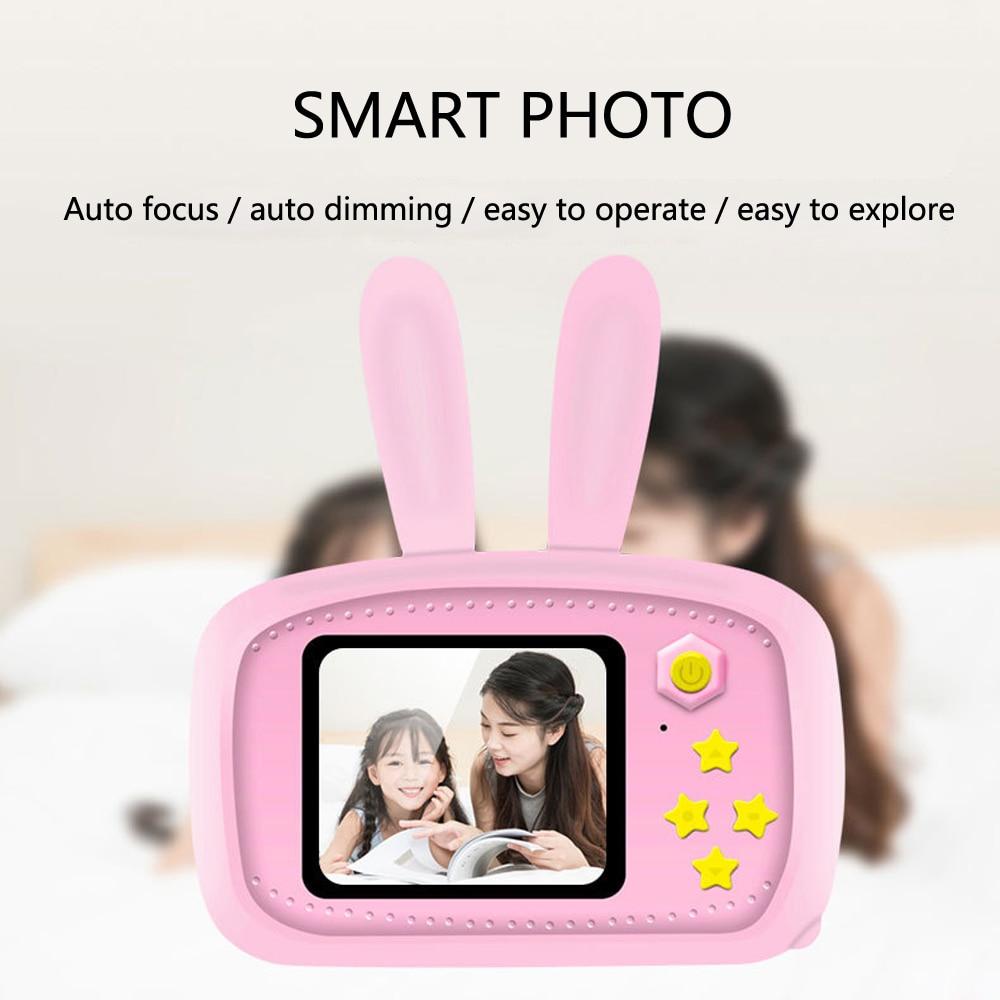 Crianças tirar foto câmera inteligente completa hd 1080 p portátil câmera de vídeo digital 2 Polegada display lcd tela brinquedo eletrônico para crianças